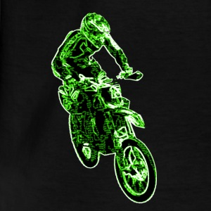 Enduro Jump Green T-shirts - T-shirt barn