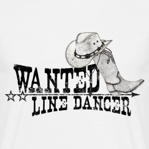 linedance - Herre-T-shirt