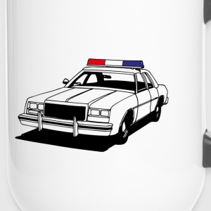 Police Car II Bottles & Mugs - Travel Mug