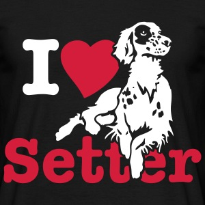 i_love_setter Tee shirts - T-shirt Homme