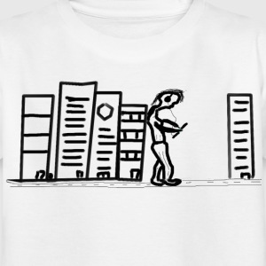 giant on the wall - Kinder T-Shirt