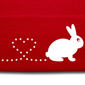 'Pooping Heart Rabbit' Hat/Beanie  - Winter Hat