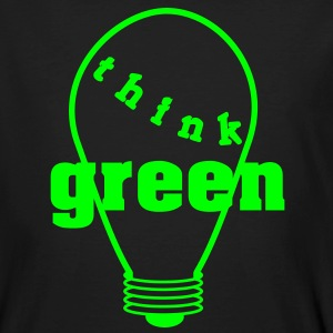 Think Green!  T-shirts - Mannen Bio-T-shirt