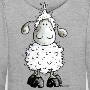 Mc Wool - mouton- moutons Sweat-shirts - Sweat-shirt à capuche Premium pour hommes
