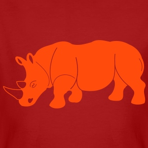 Rhinoceros horn of animals animal Africa Safari T-Shirts - Men's Organic T-shirt