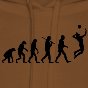 evolution of volleyball Pullover & Hoodies - Frauen Premium Hoodie