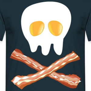 Tasty Skull & Bones - Men's T-Shirt