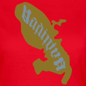 carte Martinique tattoo Madinina Tee shirts - T-shirt Femme