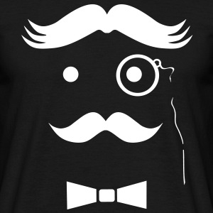 Very Wicked Uncle Moustache T-Shirts - Men's T-Shirt