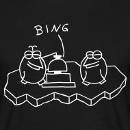 Motiv ~ Die Binguine - T-Shirt (schwarz)