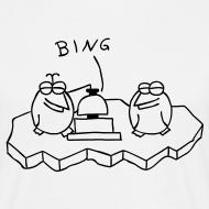 Motiv ~ Die Binguine - T-Shirt (weiß)