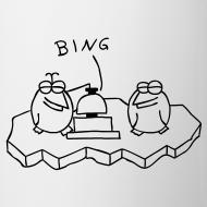 Motiv ~ Die Binguine - Tasse (weiß)