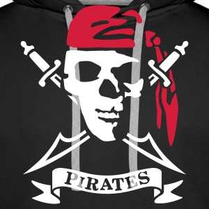 pirates_2 Sweat-shirts - Sweat-shirt à capuche Premium pour hommes