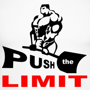 PUSH the LIMITgif.gif Tee shirts manches longues - T-shirt baseball manches longues Homme
