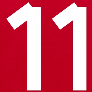 Number 11 Shirts - Kids' Organic T-shirt