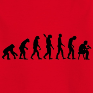Tätowierer Evolution T-Shirts - Kinder T-Shirt