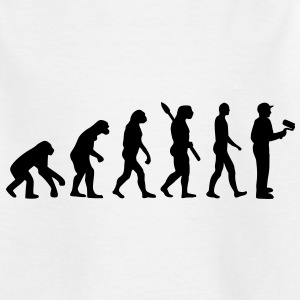 Maler Evolution T-Shirts - Kinder T-Shirt