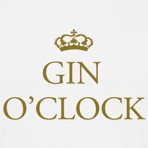 Gin O'Clock T-Shirts - Men's T-Shirt