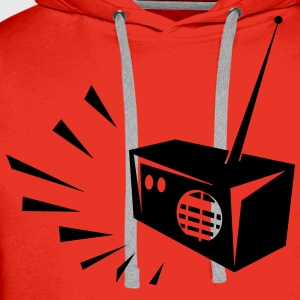 Radio Sweat-shirts - Sweat-shirt à capuche Premium pour hommes
