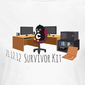 Pinguin Survivor Kit DE T-Shirts - Frauen T-Shirt