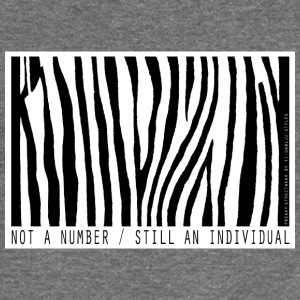 not a number... still an individual Hoodies & Sweatshirts - Women's Boat Neck Long Sleeve Top