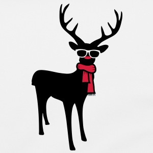 A reindeer with scarf and glasses Bags  - Shoulder Bag