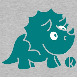 Dinosaurier Triceratops (c) Shirts - Baby T-shirt