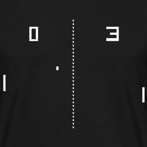 pong retro gaming T-shirts - Mannen T-shirt