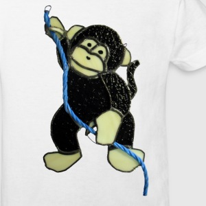 Cheeky monkey - Kids' Organic T-shirt