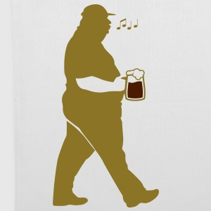 Fat Man Beer (2c)++2012 Bags  - Tote Bag