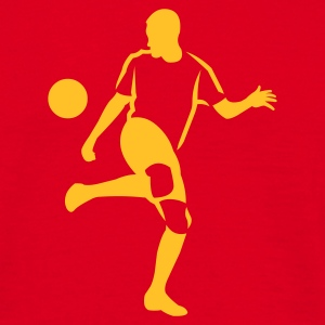 Red soccer_player_newstyle Men's Tees - Men's T-Shirt