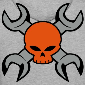 skull and tools Hoodies & Sweatshirts - Men's Premium Hoodie
