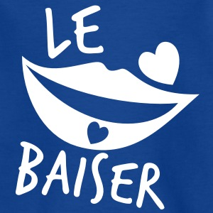 le baiser french for the kiss Shirts - Kids' T-Shirt