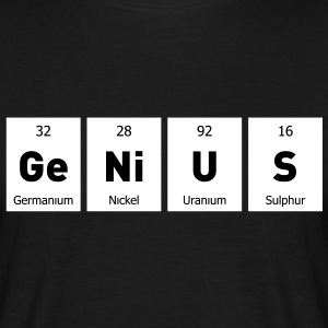 Genius Nerd Geek T-Shirts - Men's T-Shirt