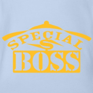 special_boss Shirts - Organic Short-sleeved Baby Bodysuit