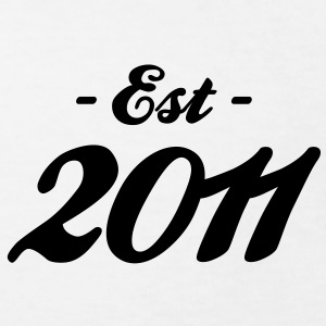 Geburtstag - Established 2011 T-Shirts - Kinder Bio-T-Shirt