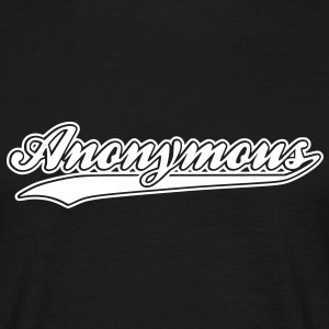 anonymous T-shirts - Mannen T-shirt