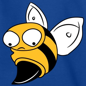 Bee WaSP sting insect vleugels 3 c. Shirts - Kinderen T-shirt