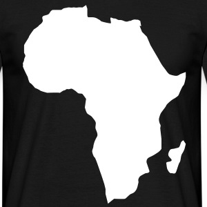 Africa the dark continent  T-Shirts - Men's T-Shirt