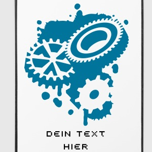 Three gears as a graffiti Other - iPhone 4/4s Hard Case