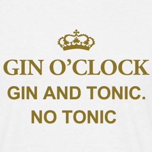 Gin O'Clock Gin And Tonic. No Tonic Men's T-Shirt - Men's T-Shirt