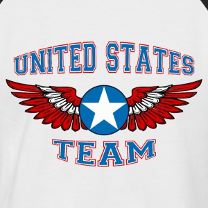 united states team Tee shirts - T-shirt baseball manches courtes Homme