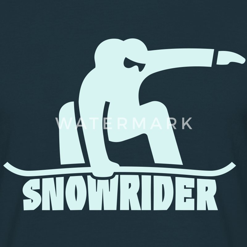 snowrider Tee shirts - T-shirt Homme