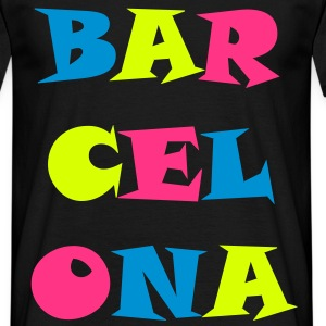 barcelona_tricolore Tee shirts - T-shirt Homme