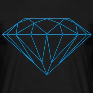 Diamond Shape T-Shirts - Men's T-Shirt