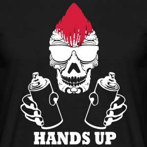 hands up T-Shirts - Männer T-Shirt
