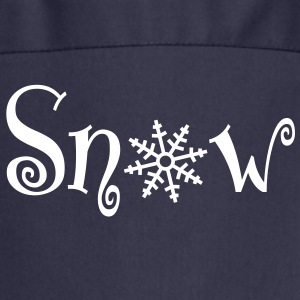 snow with snowflake  Aprons - Cooking Apron