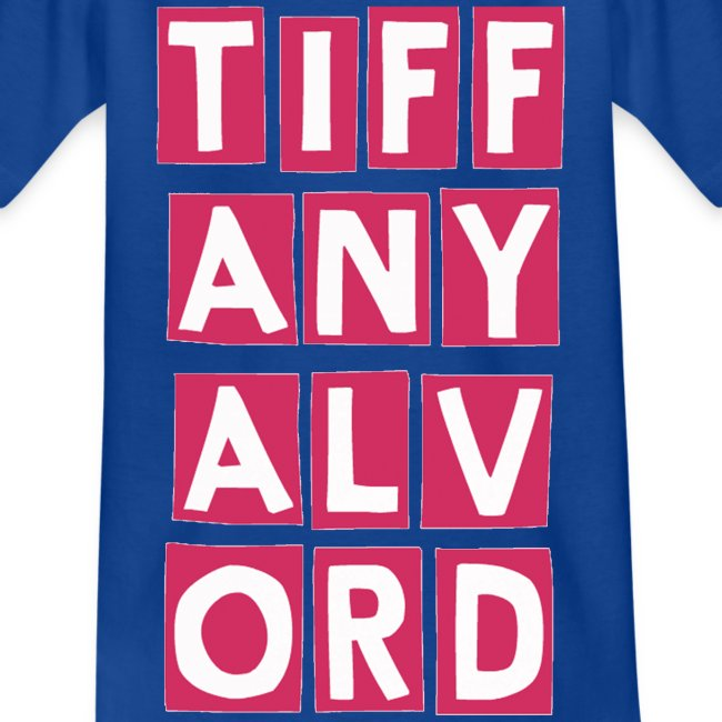 TIF-ANY-ALV-ORD PINK