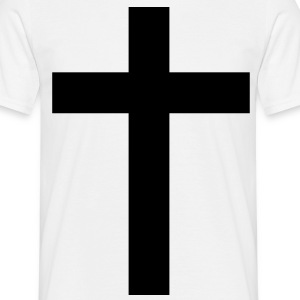 Cross cross svart bar 1 c. T-shirts - T-shirt herr
