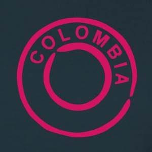 Marineblå Colombia T-shirts - Dame-T-shirt